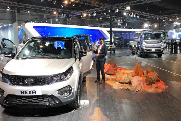 Tata Motors @ Delhi Auto Show